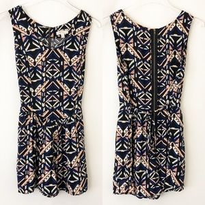 Love Fire Romper with Pockets